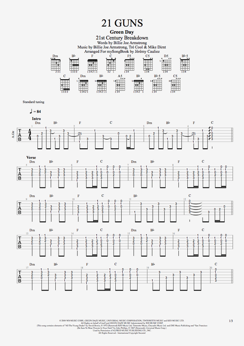 Drum : drum tabs of 21 guns Drum Tabs in Drum Tabs Ofu201a Drum Tabs Of 21u201a Drum
