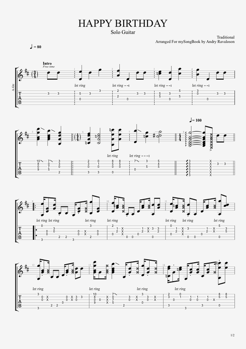 1000+ ideas about Happy Birthday Guitar Chords on Pinterest : Guitar chords, Guitar and Guitar ...