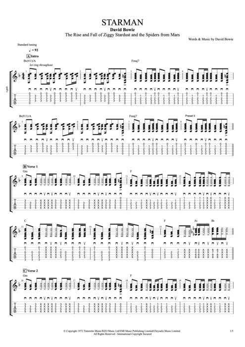 Message in a bottle guitar chords