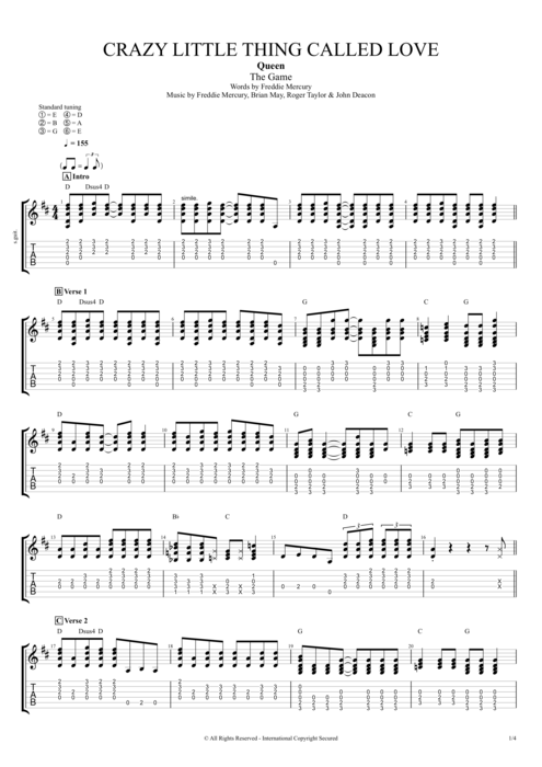 african queen guitar chords » Music Sheets, Chords, Tablature and ...