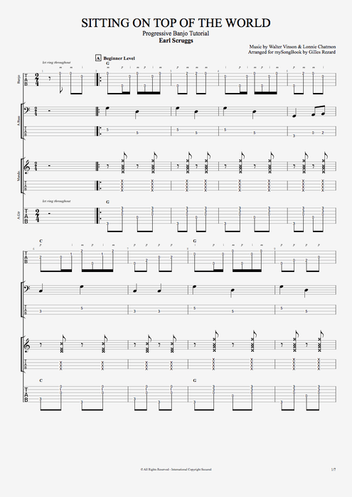 Banjo u00bb Banjo Chords For Jingle Bells - Music Sheets, Tablature, Chords and Lyrics